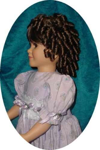 """Synthetic Fiber /"""" Charmaine /"""" Monique Doll Wig 14//15 fits My Twinn and others"""