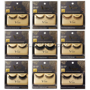 7f1005abf08 i Envy V-Luxe 100% Virgin Remy Hair Eyelash False Eye Lashes Strip ...