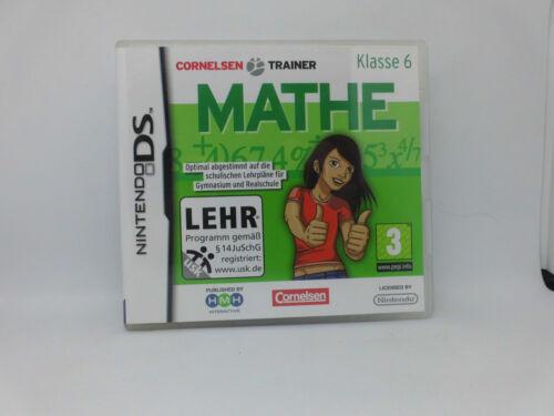 1 von 1 - Cornelsen: Mathe Klasse 6 - Nintendo DS für Gymnasium und Realschule kpl.!