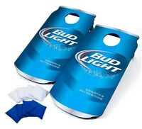 Fathers Day Cornhole Boards Bean Bag Toss Tailgating Football Games Bud Light