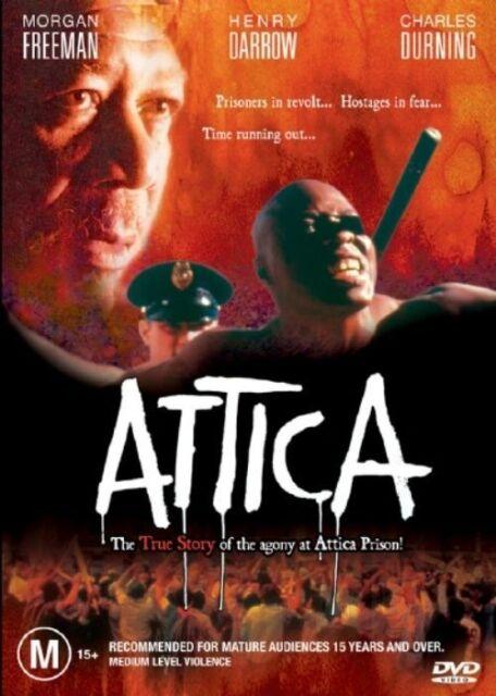 ATTICA - MORGAN FREEMAN. LIKE NEW, R4