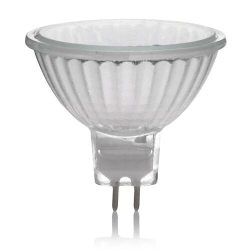 12v 3000k Packs of 40w =50w Energizer MR16 ECO Halogen Bulbs Warm White