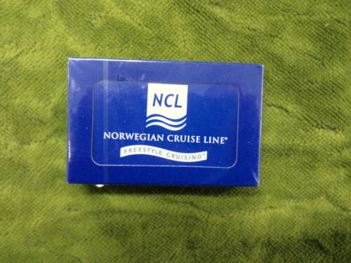 #BB. SEALED PACK OF NCL NORWEGIAN CRUISE LINE PLAYING CARDS