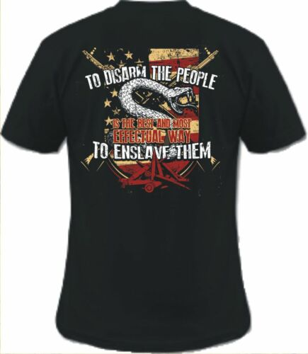 2ND AMENDMENT DON/'T TREAD ON ME AMERICA FREEDOM FIREARMS T-SHIRT PRO GUN FIREARM