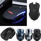 2.4G 800-2000DPI USB Maus Mini Wireless Optisch Gaming LED Mäuse PC Laptop Mac