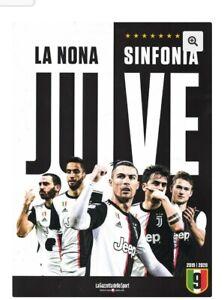 LIBRO-BOOK-OFFICIAL-FC-JUVENTUS-JUVE-LA-NONA-SINFONIA-9-GAZZETTA-2019-2020