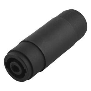 Speakon-PA-Stecker-4-Polig-Verbindung-Adapter-Verbinder-fuer-Boxen-Lautsprecher
