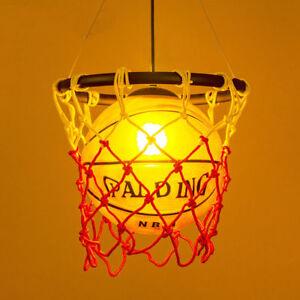 Details about Unique Basketball LED Light Ceiling Chandeliers Kid\'s Room  Bedroom Pendant Lamps