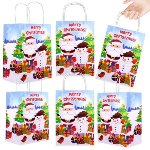 German Trendseller® 12 x Geschenke Party Beutel WeihnachtenNikolausWichtel