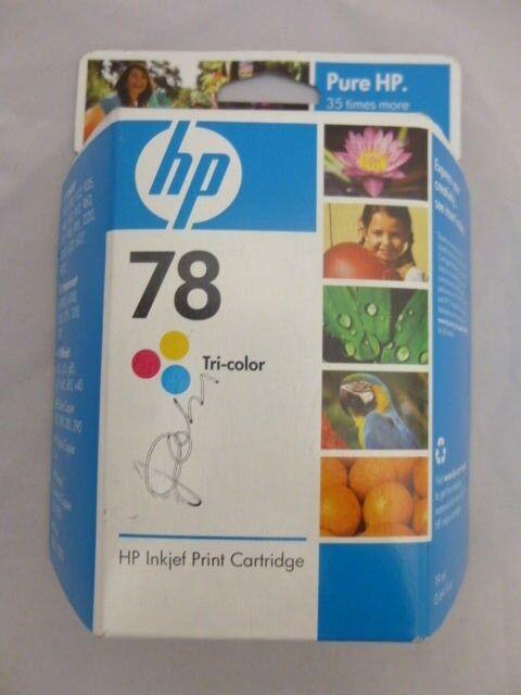 HP78 TriColor Inkjet Print Cartridge 3C6578DN - NEW W/ FACTORY SEAL Unopened Box