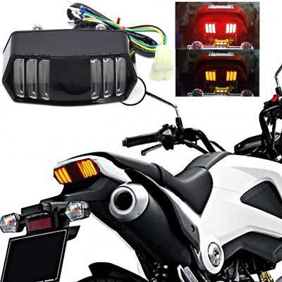 Motorcycle LED Rear Stop Tail Turn Signal Light For Honda Grom 125 MSX 2013-2017