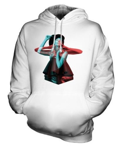 FASHION MODEL STEREOSCOPIC UNISEX HOODIE TOP GIFT 3D ILLUSION