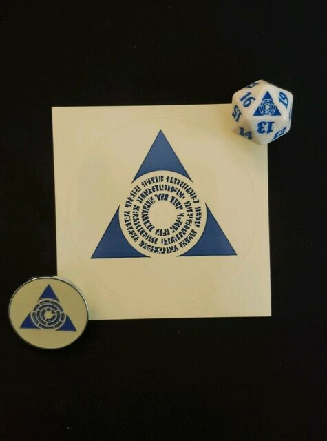 and Sticker x1 from simic Guild Kit MTG spindown Simic Pin