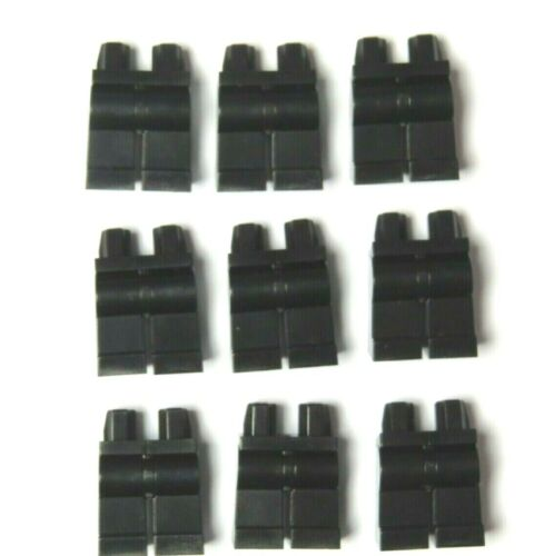 Lego 9 Leg Legs For Minifigure Figure Black