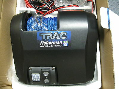 Trac Outdoor Fisherman 25 Electric Anchor Winch Boat Anchoring Rope Part Docking