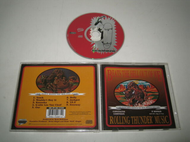 Beats the hell out of me/rolling thunder Music (metalblade/084-101042) CD album