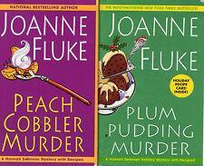 Complete Set Series - Lot of 21 Hannah Swensen Mystery by Joanne Fluke (Recipes)