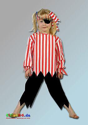 Aggressivo Costume Bambini Pirata Carnevale Carnevale Fasnacht Ca 4 Anni Taglia Unica-