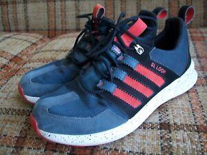 fr Adidas Sl Mens 42 3 9 2 Size Running Black S84484 Loop Stripe Red rABtfA