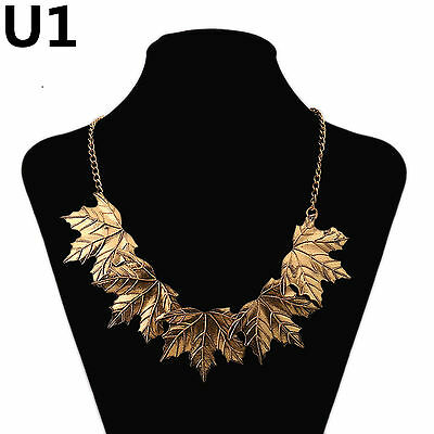New Fashion Silver or gold Pendant Statement Bib Chunky Charm Choker Necklace