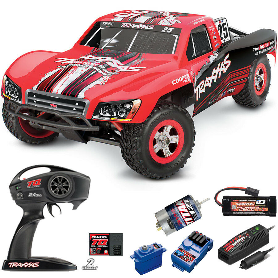 Traxxas 1/16 Slash 4X4 Brushed RTR TQ Radio/Battery/Charger  25 Mark Jenkins
