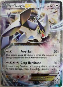Lugia-EX-68-98-HOLO-Ancient-Origin-Pokemon-Anglais-Presque-comme-neuf