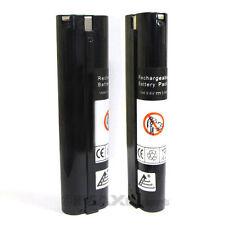 2 x 9.6V 3000mAh Ni-Mh Battery for MAKITA 6092DW 6094DW 6095DW 6900DW ML902