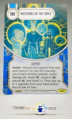 x2 Mysteries Of The Force 121 Uncommon Star Wars Destiny Spark of Hope M//NM