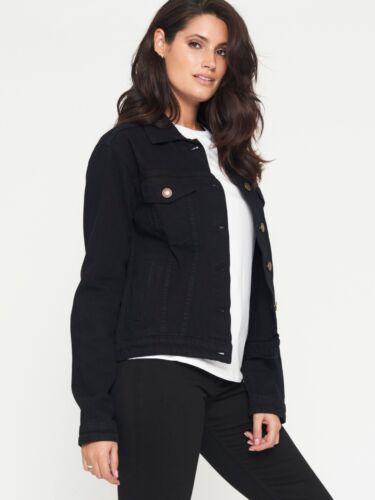 Nouveau JM original de marque femme regular Noir Veste en jean
