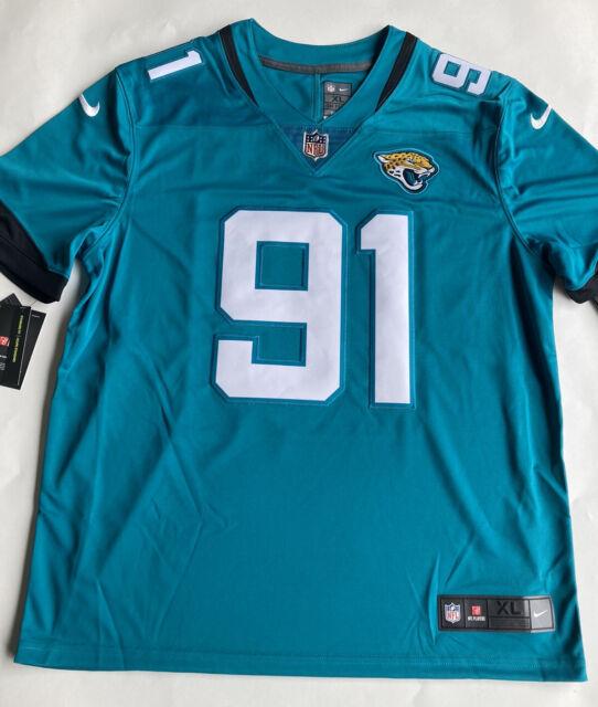 Nike NFL Jacksonville Jaguars Yannick Ngakoue #91 on Field Stitched Jersey Sz XL