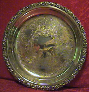 VINTAGE-ORNATE-ROUND-SILVER-PLATE-DEEP-TRAY-2672
