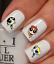 filles-bouffees-de-puissance-Autocollant-Stickers-ongles-nail-art-manucure miniatuur 3
