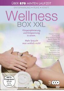 Wellness Box XXL [3 DVD's/Nuovo/Scatola Originale] 15 ore di ottimizzazione del corpo e relax