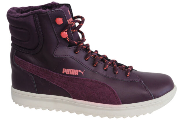 ... Winter Shoes Sport Classics Women Purple EUR 40. About this product.  Puma Vikky Mid Lace Up Leather Dark Purple Womens Boots Trainers 356732 01  D67 a8c10549c