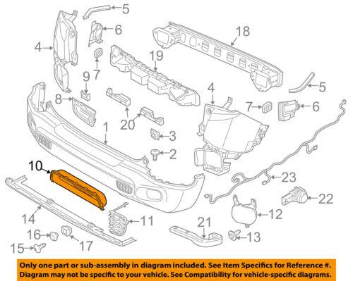 Jeep CHRYSLER OEM 15-18 Renegade Rear Bumper-Bezel 5VX02LXHAA