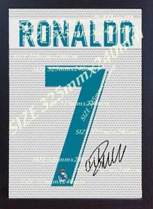S/&E DESING Cristiano Ronaldo Manchester United Signed Printed on Canvas 100/% Cotton Framed