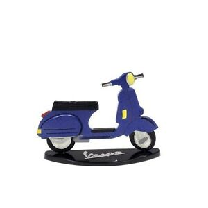 MINIATURE DE COLLECTION EN METAL VESPA BLEUE PX125 1978 rcvcGwAM-07150621-406046127