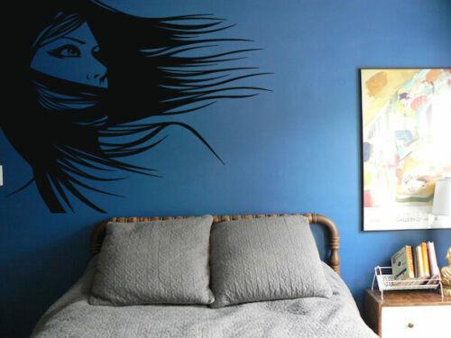 Wall Art Vinyl Sticker Room Decal Mural Decor Art Hair Salon Style Woman bo1529