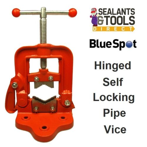 Blue Spot Tools Hinged Clamping Pipe Clamp Vice 10020 Self Locking Plumbers