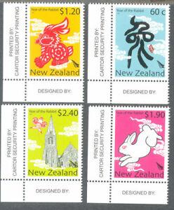 Bien Informé Nouvelle-zélande-année Du Lapin 2011 Neuf Sans Charnière Set-nouvel An Chinois-afficher Le Titre D'origine