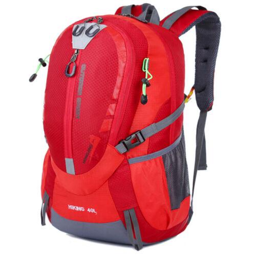 Unisex Travel Backpack Big Outdoor Climbing Hiking Biking Rucksack Sports Bag