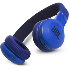 JBL E45BT Bluetooth Wireless On-Ear Headphones With Mic Blue - Authorized Dealer