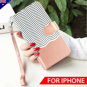 For-iPhone-X-8-6-7-Plus-Luxury-Wallet-Case-Flip-Leather-Removable-Magnetic-Cover