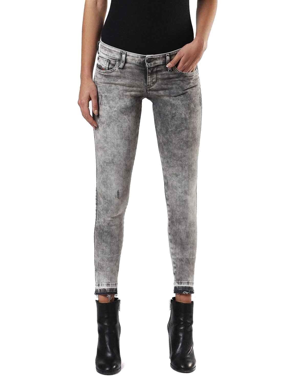 Diesel Skinzee Low-C 0679s Ladies Jeans Trousers Skinny Super Slim