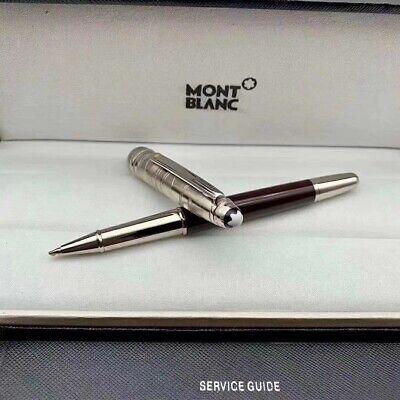 Replica MB P163 Meisterstuck Bright Black M Rollerball Pen No Pen Box