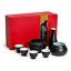 Sake-Set-with-Warmer-KBNI-Traditional-Pottery-Hot-Saki-Set-7-Piece-including thumbnail 6