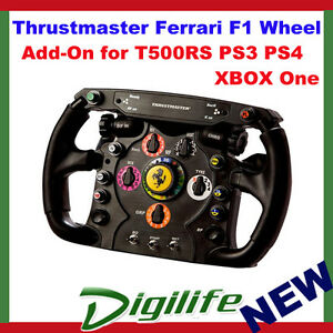 thrustmaster ferrari f1 wheel add on for t500 rs t300rs. Black Bedroom Furniture Sets. Home Design Ideas