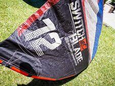 Gently used 2012 Cabrinha Switchblade 12m Kite WITH Bar and Bag!