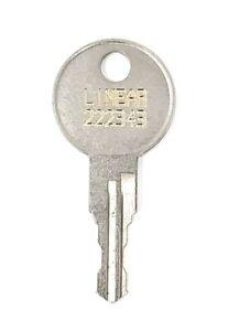 Linear Gate key 222343 AE100, AE1000, AE500, AE1000 Laser Cut