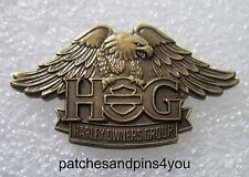 Harley Davidson HOG New Style Eagle Pin NEW! FREE U.K. POSTAGE!